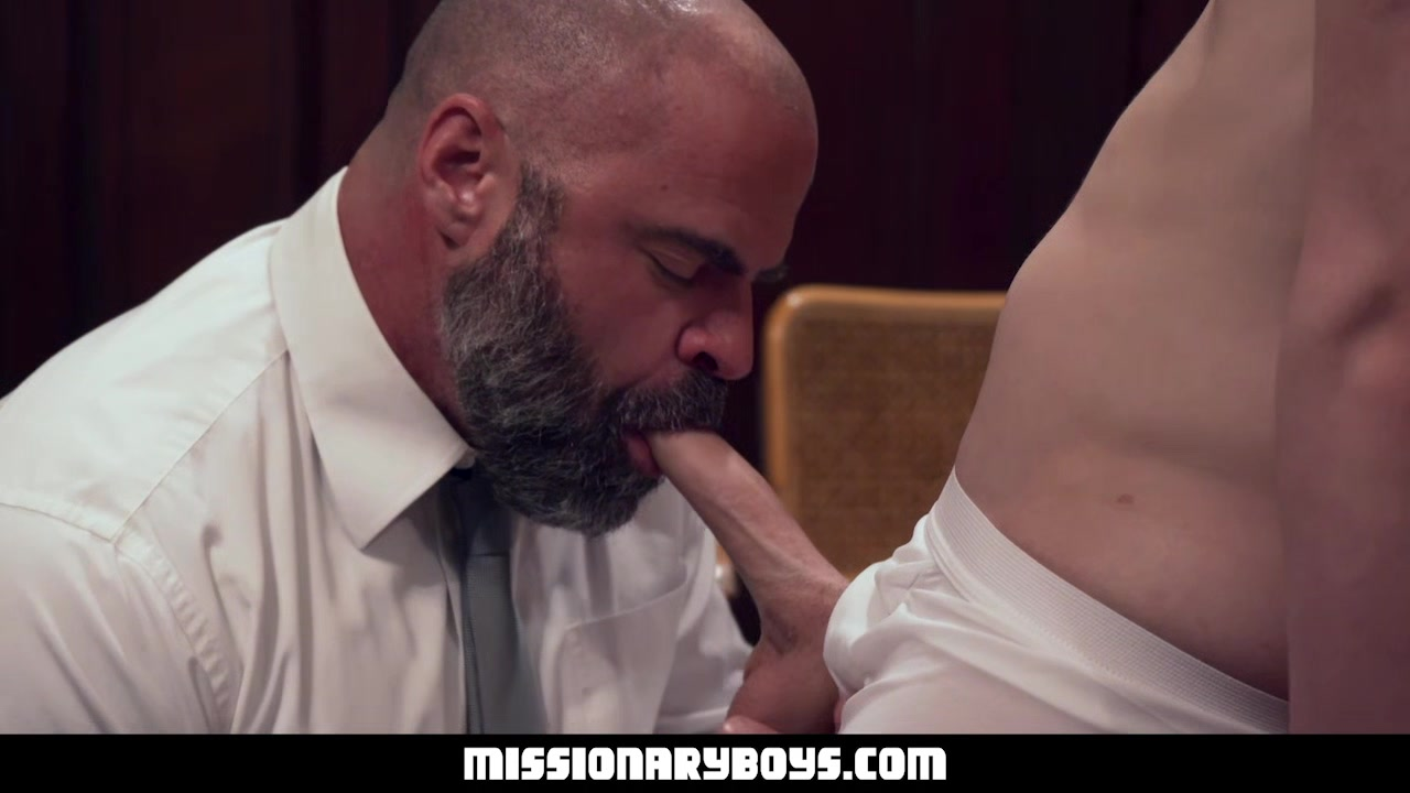 MormonBoyz - Burly Priest Fills A Missionary Boy?s Butt With Girthy Cock video free for iphone