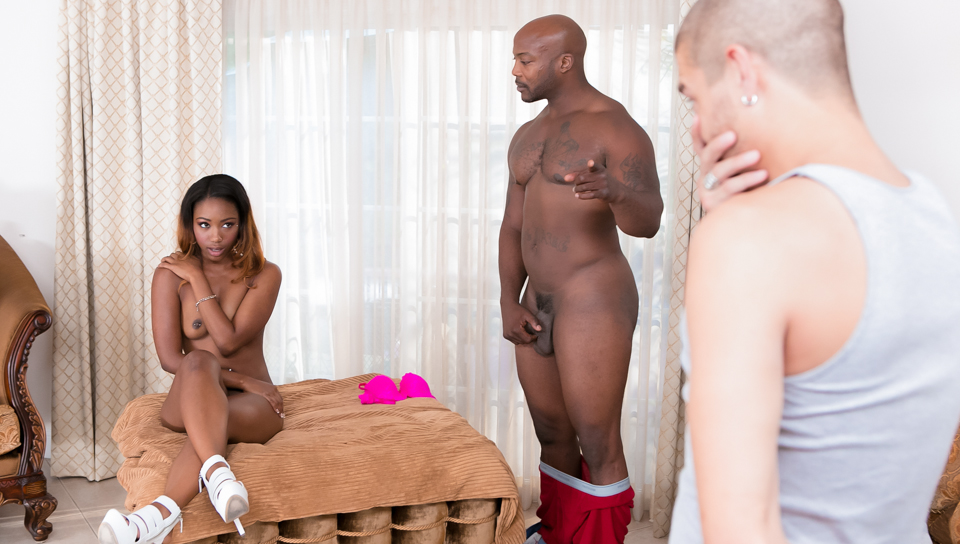 Best Ebony Threesome Homemade