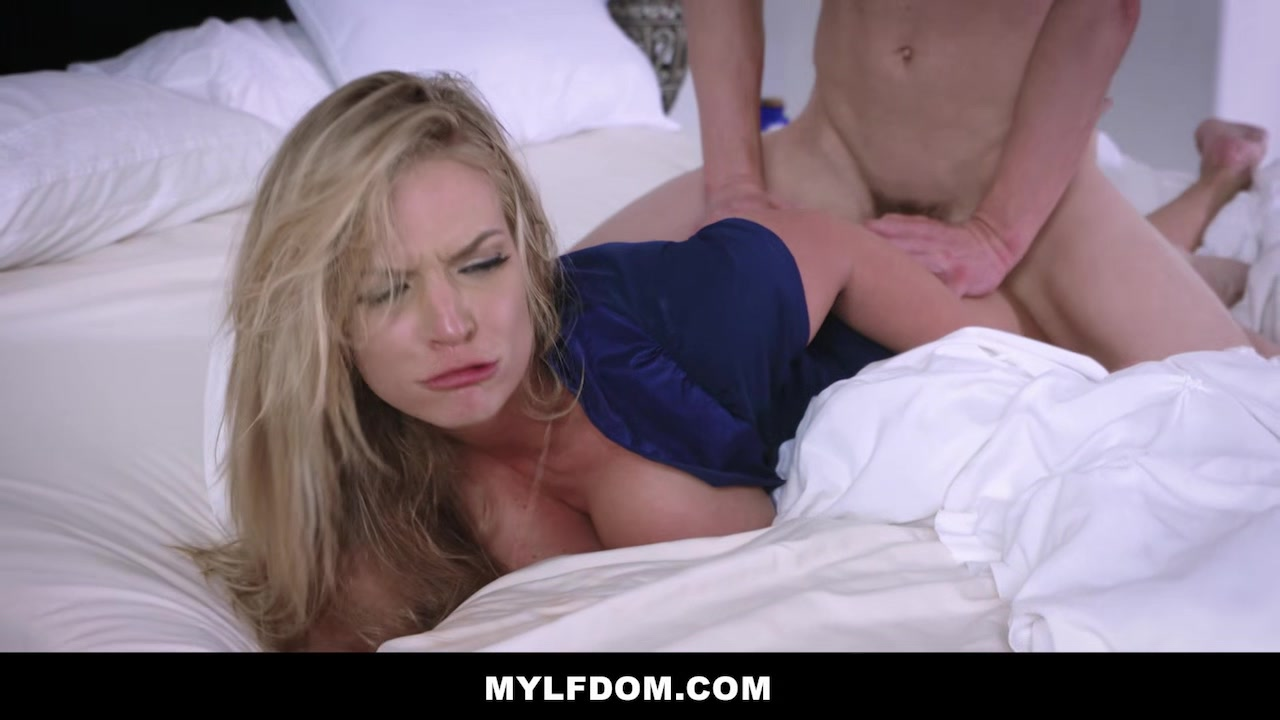 MYLFDOM - Pissed Cuckold Dominates Blonde Horny Milf Techer Japen