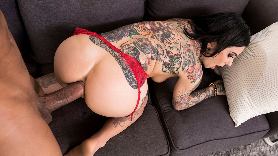 Joanna Angel & Ricky Johnson in Is He Gonna Cheat Again - BRAZZERS
