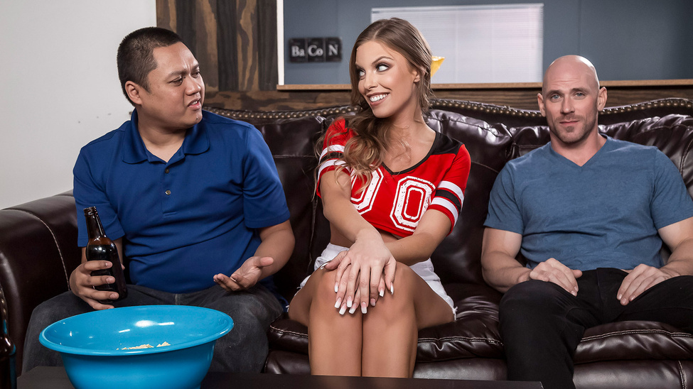 Britney Amber & Johnny Sins in Game Day Dicking - BRAZZERS