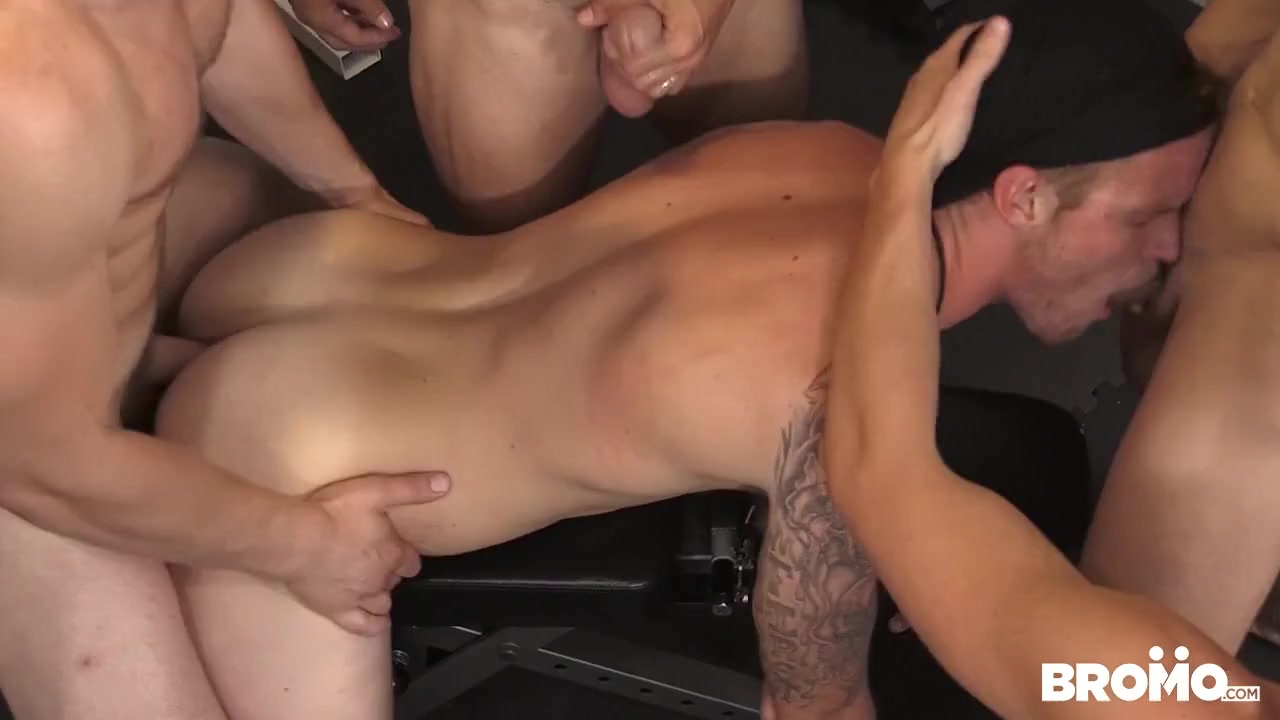 Train Me Part #4, Scene 1 - BROMO Boobs hot armpit hair