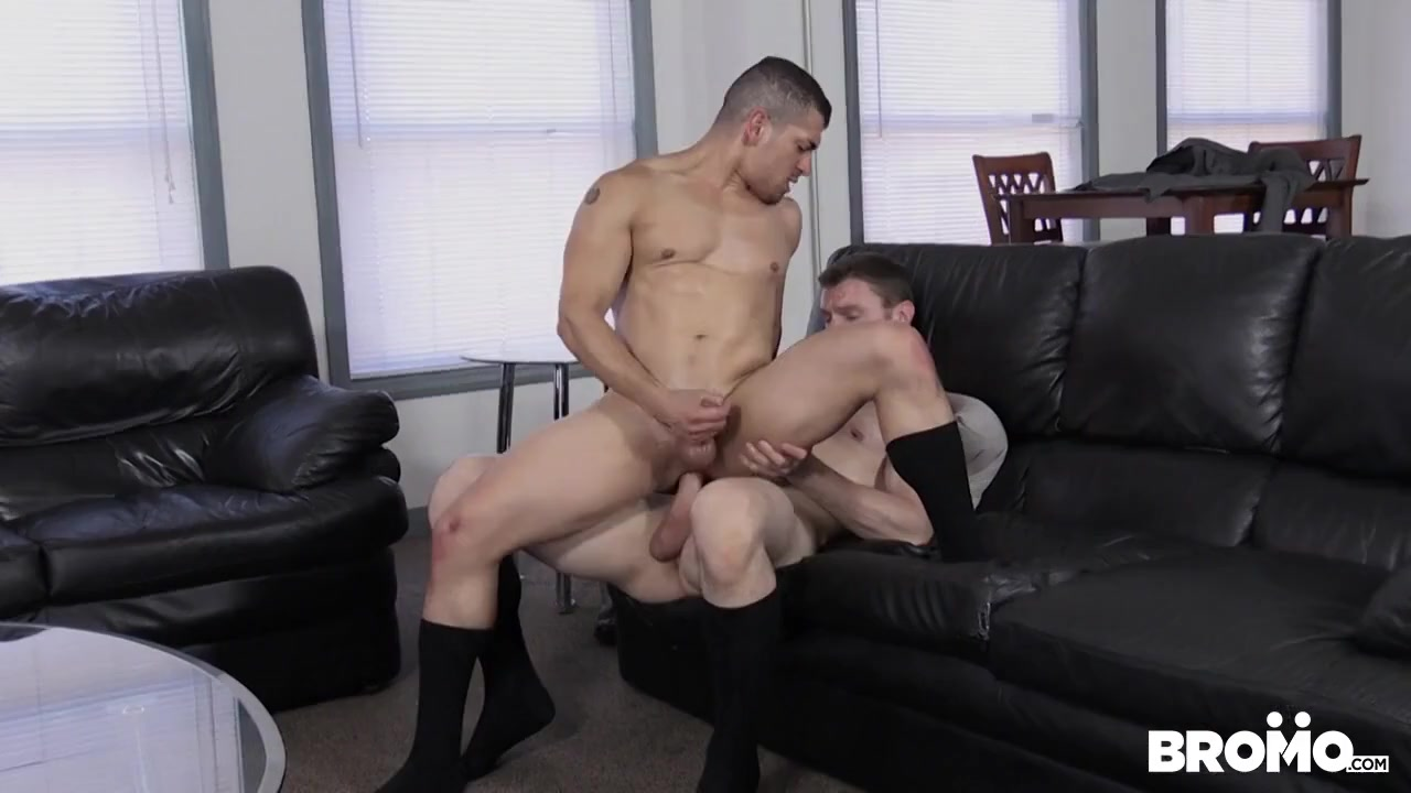 The Business Of Barebacking Part #2, Scene 1 - BROMO Sucking It Real Good