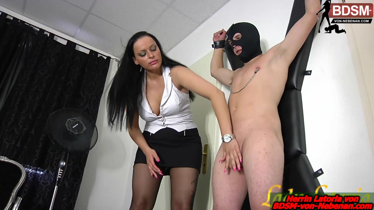 german slave torture at cruz with bdsm femdom milf