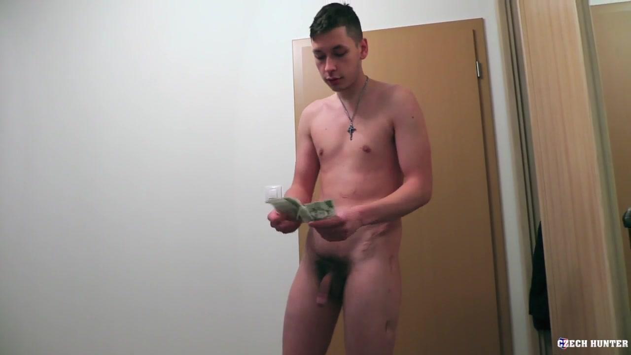 Czech Hunter 407 - BIGSTR Nude girl outside gif