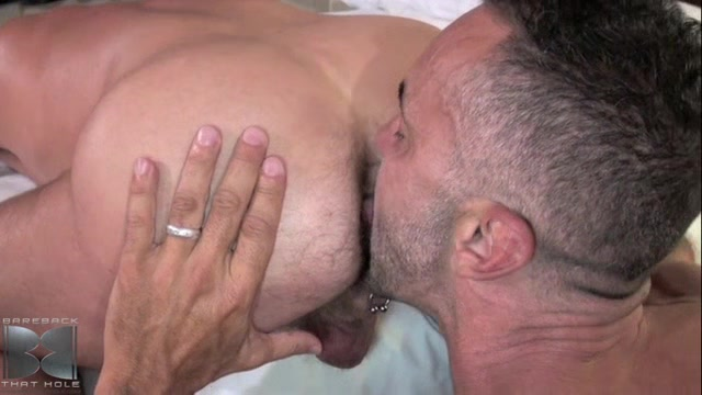 Lito Cruz and Chad Brock - BarebackThatHole Cum in her belly button