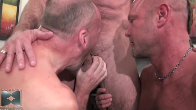 Matt Sizemore, Paul Stag and Chad Brock - BarebackThatHole Horror girl porn