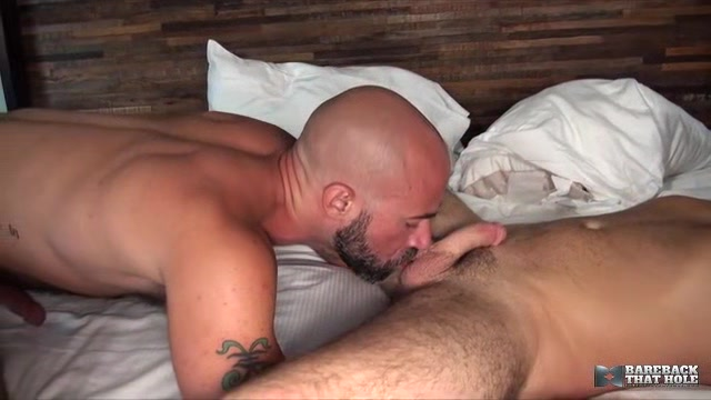 Alex Mason and Damon Andros - BarebackThatHole Voodoo in threesomes