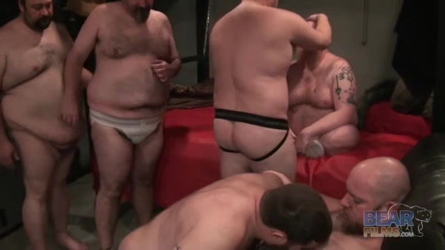Atlanta Orgy - BearFilms Mature rim