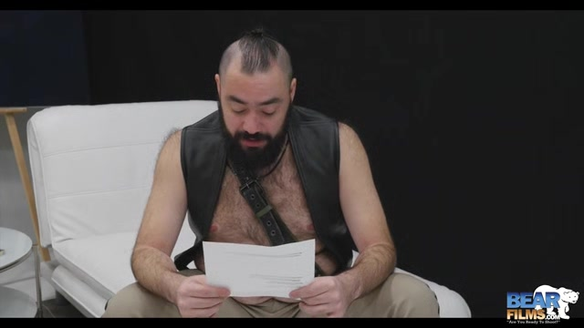 Bearsilien Bonus Interview - BearFilms Hand inside panties gif