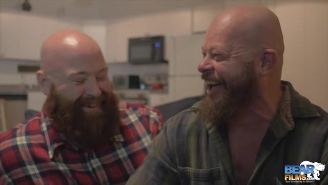 Tate Taylor and Gruff Hunter - BearFilms Ssbbw foursome