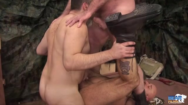 Five-Man Military Orgy! - BearFilms Bbw cam girl with perfect tits