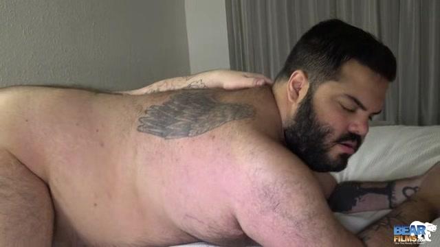 Skylar Cole and Big Mark - BearFilms black anal machine xxx