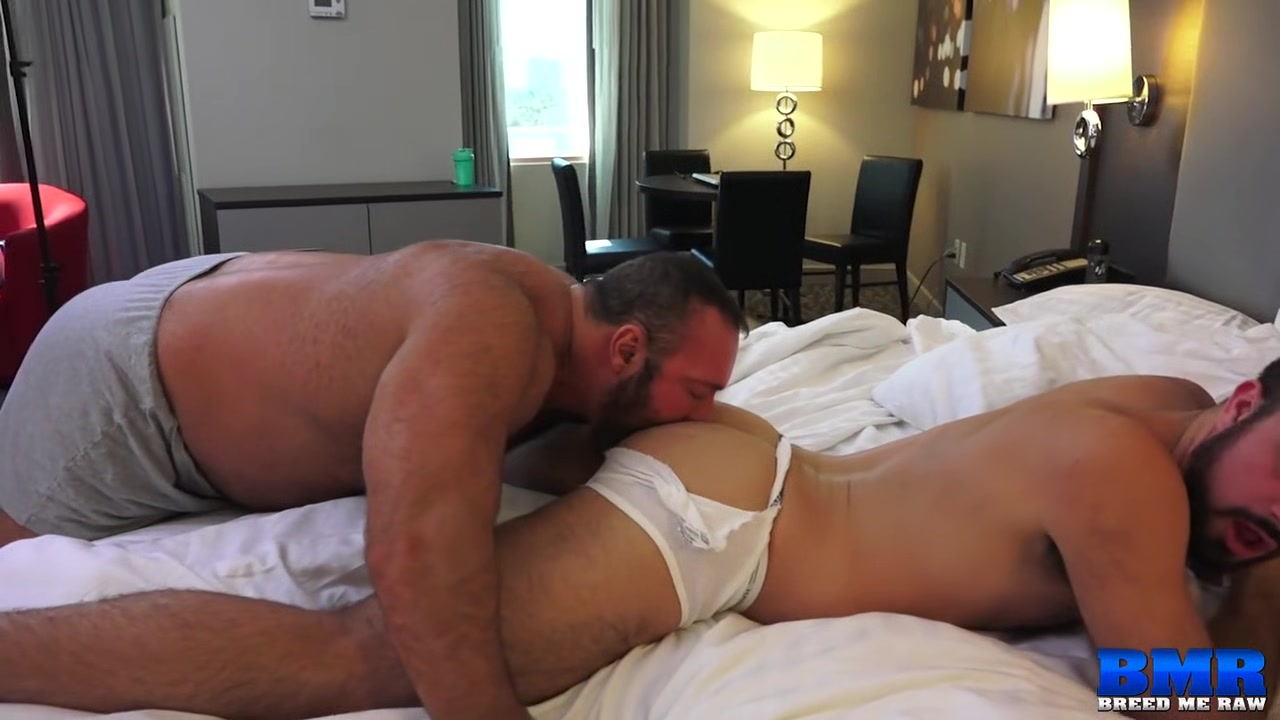 Brad Kalvo and Mason Lear - BreedMeRaw door in the nude scences
