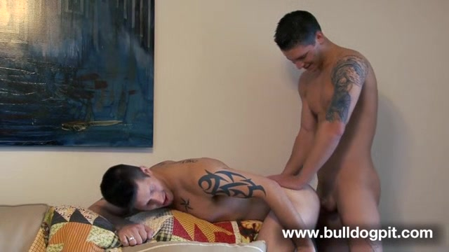 Jake Austin and Haigan Sence - BulldogPit milf getting fucked with strapon