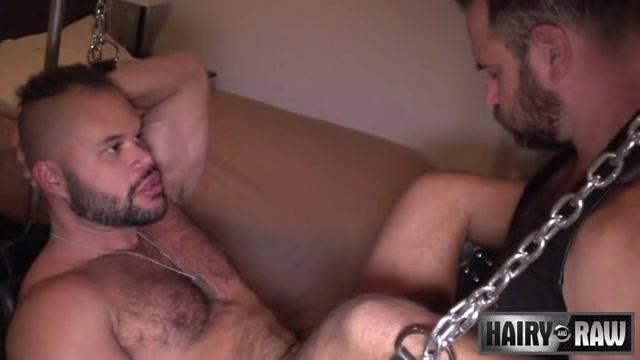 Butch Spencer and Damien Kilauea - HairyandRaw Hardcore vamp Valerie handjob