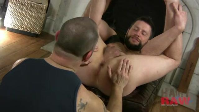 Randy Scott and Rob Hunter - HairyandRaw Cam Sex Selfe