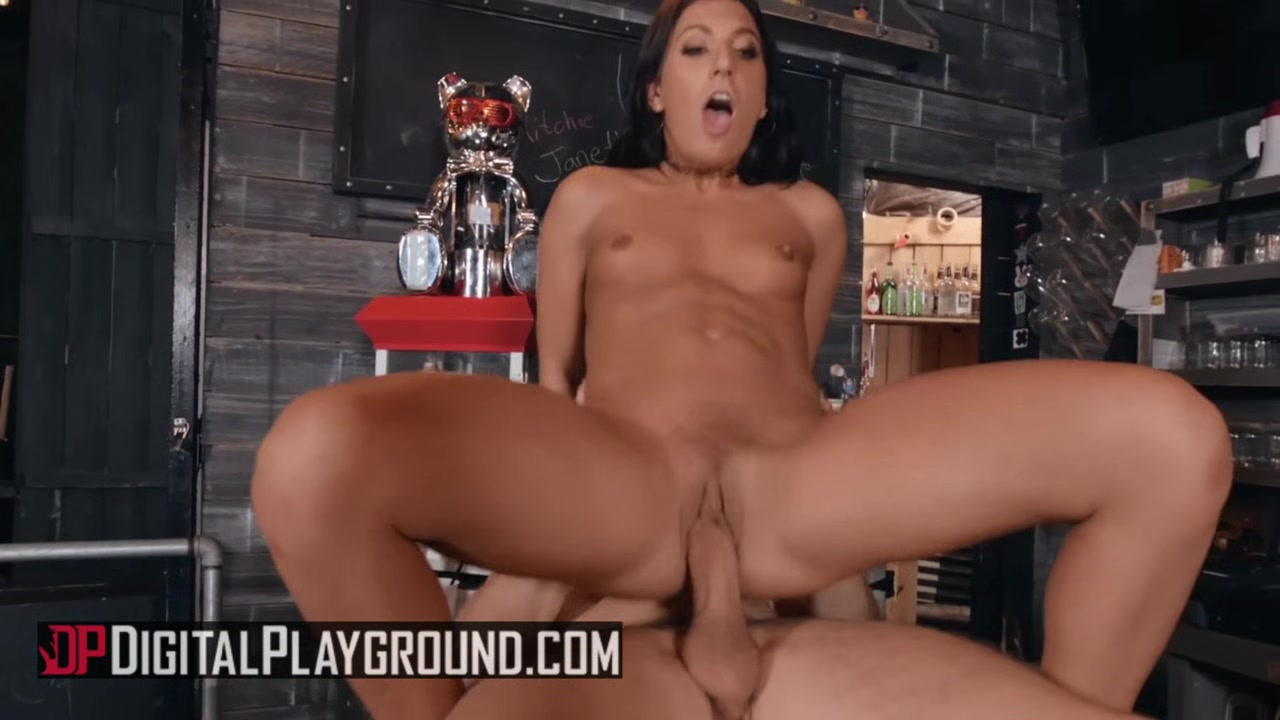 Digital Playground - Robby Echo Alissa Jayde - Booty-ful Bartender Indian women interracial