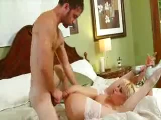 Incredible Blonde scene with Hardcore,Anal scenes