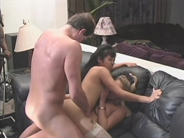 Group orgy with DP blowjobs and cumshots