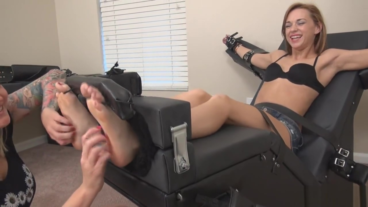 Morgan Del Ray Toe Tied Tickle Torture - Tickle Abuse - Cute Feet Tickled Hairy lesbo aussie group