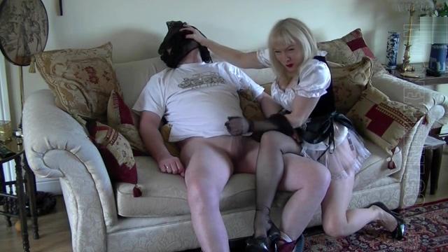 Naughty Nylon Maid