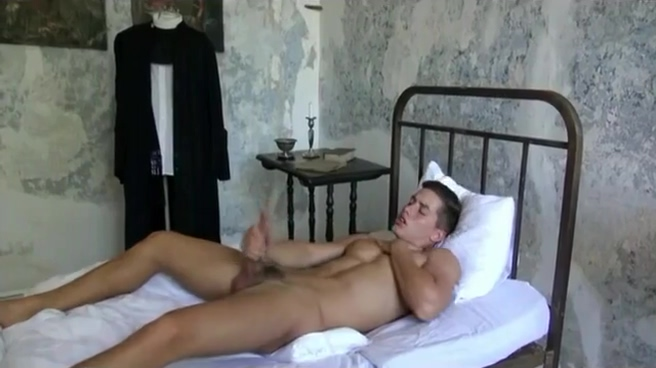 A Hung Father Lost Bet And Naked