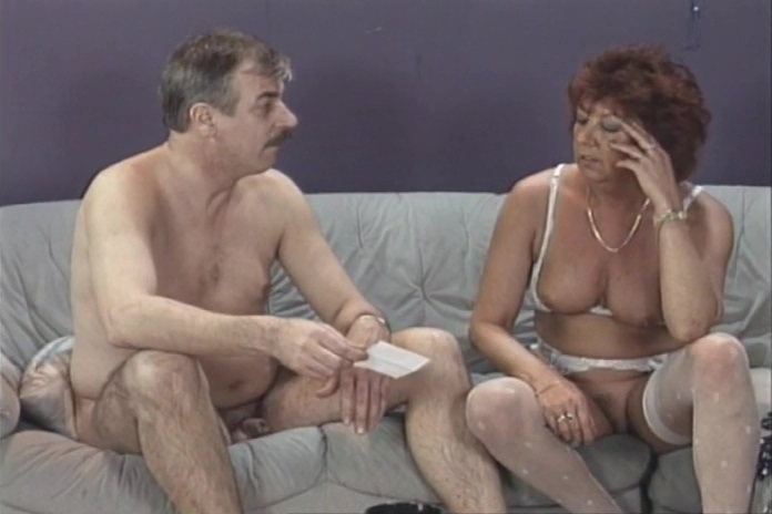 Older Couple Gets Naked For A Little Bit Of Oral Love