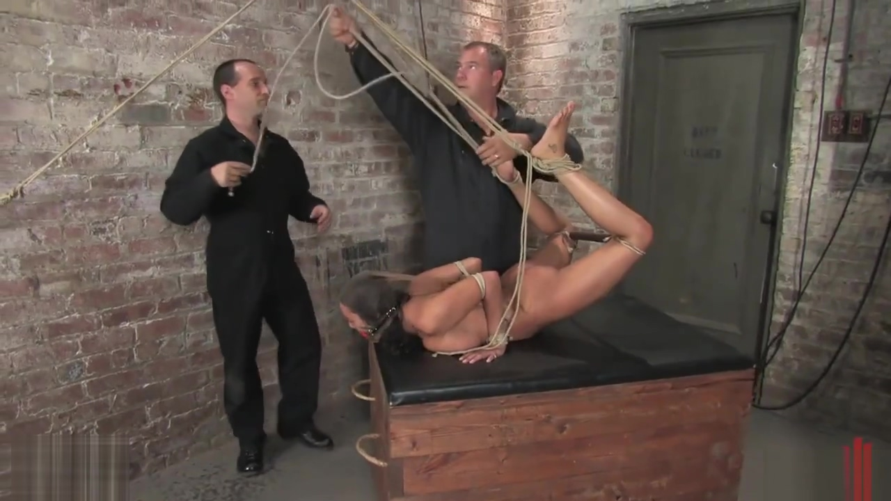 Charley Chase bound in bondage & whipped Sahara and her bestfriend getting screwed