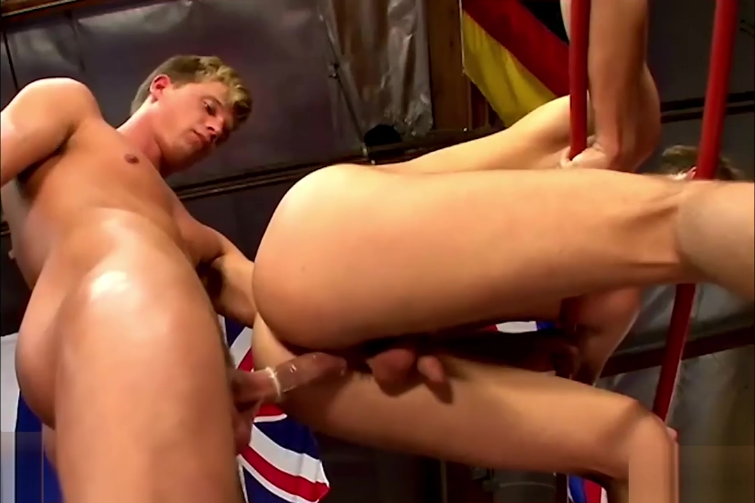 Boxing jocks having sex in the gym Adult content orgy