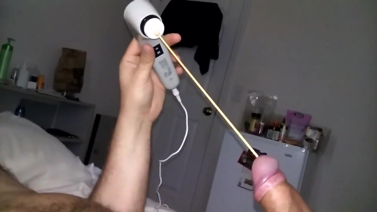 Sound with Vibrator - Knitting Needle Dominated les ass toyed