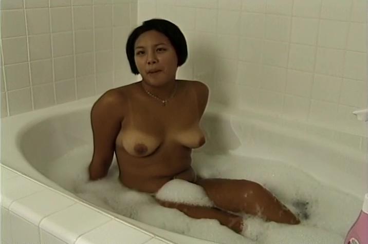 Lani Fucks Then Relaxes In The Tub Beautiful naked asian women porn