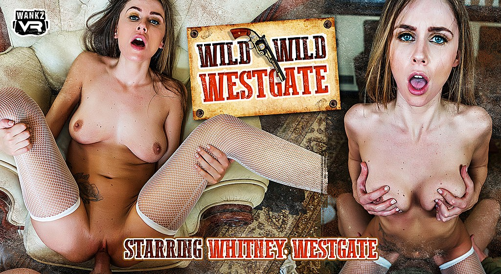 Wild Wild Westgate Preview - Whitney Westgate - WANKZVR RayVeness and Tara Morgan lesbian action