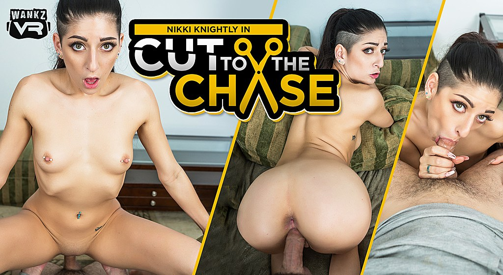 Cut to the Chase Preview - Nikki Knightly - WANKZVR black bbw shemale topping