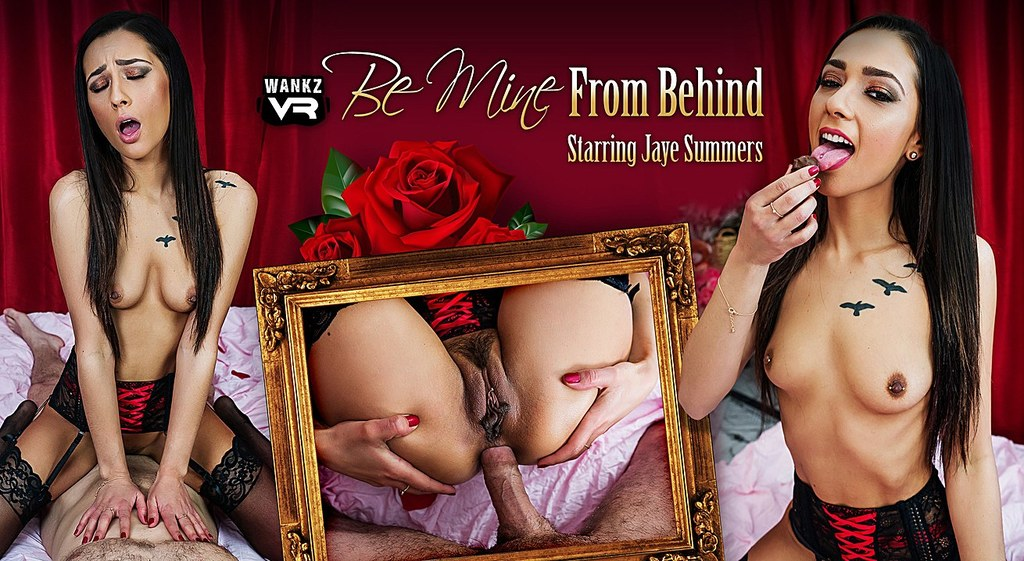 Be Mine From Behind Preview - Jaye Summers - WANKZVR Why made naked girl american