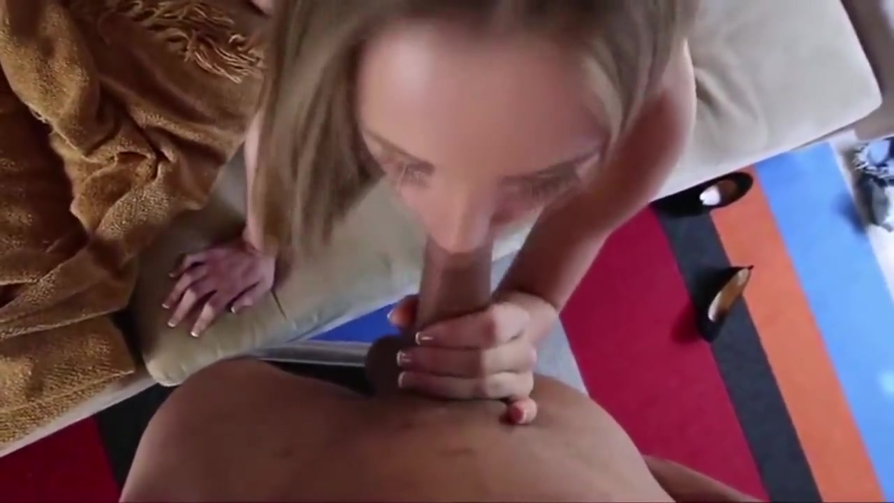 Jillian Janson gives Sloppy Blowjob