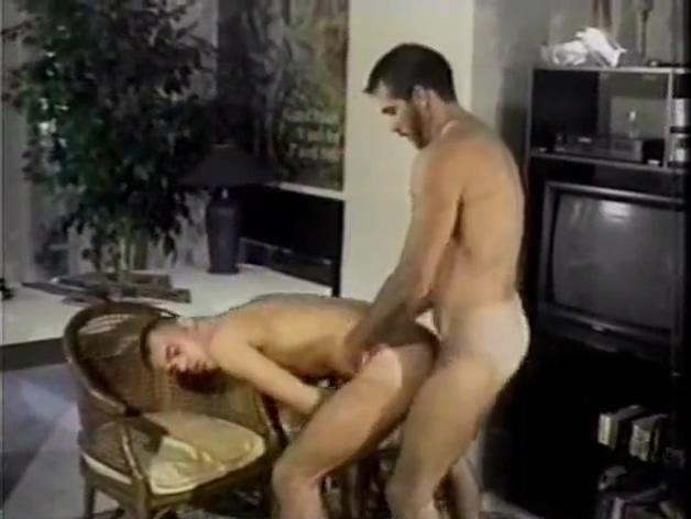 Hairy top retro ass fuck Exercise Man