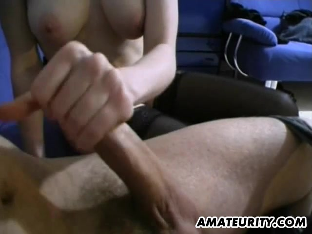 Busty amateur girlfriend toys and gives handjob Hot fat chicks get fucked