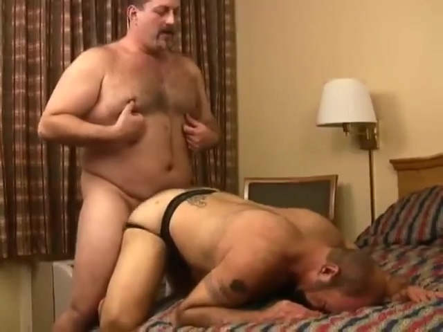 Chubby bears in hotel anal sensitive penis and nerve damage