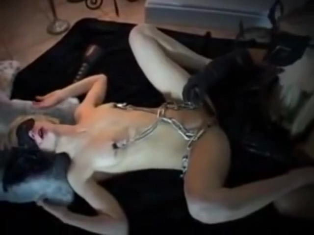 decadent lesbian sub intimately used by her Mistress