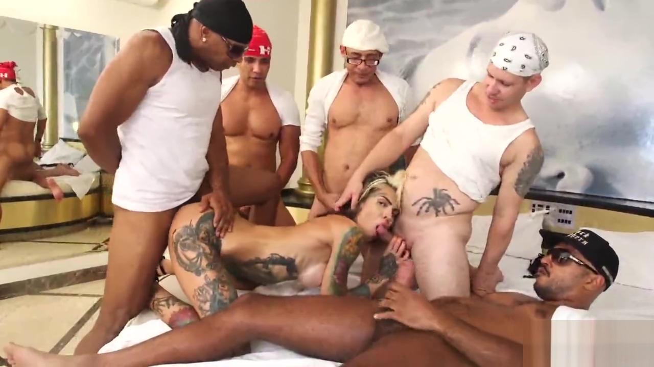 TS GABY bunch-sex