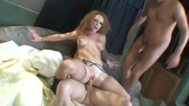 Redhead Takes It Up Both Holes At Once! my secret amateur porn