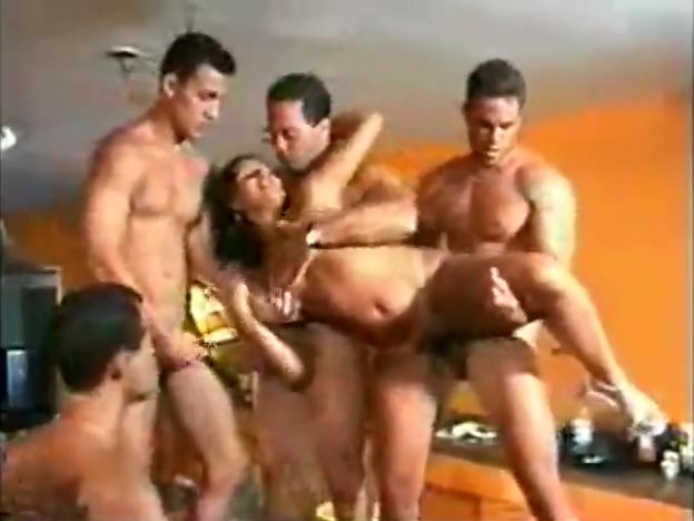 Valdeska gangbang fox in the hole porn