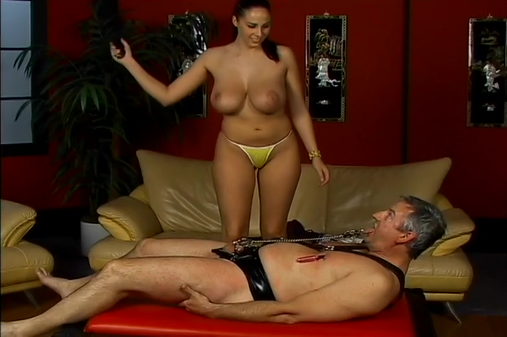 Dominatrix Gianna Disciplines A Naughty Old Man Youporn tattoo