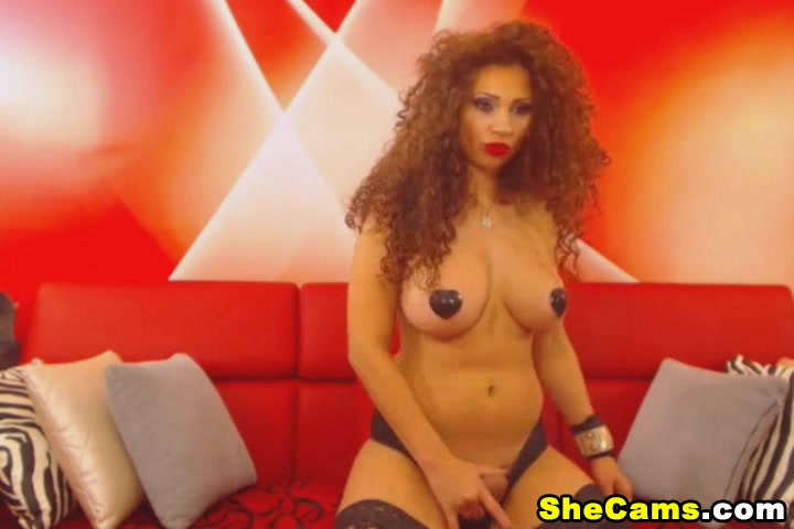 Exotic Shemale Gets Naughty on Cam