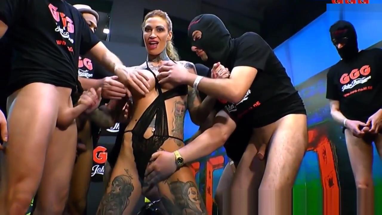Germans mouth cum dumped Nina james pussy ass