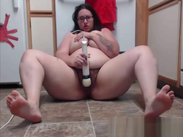 Horny housewife TexasHoney masturbates in the kitchen and squirts fountain BBWSEXYcom free orgy party porn