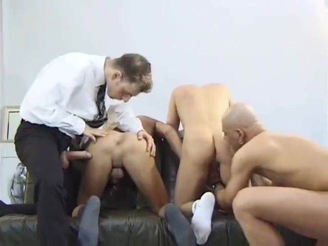 Business man joins foursome Snow Bunny Gets Revenge