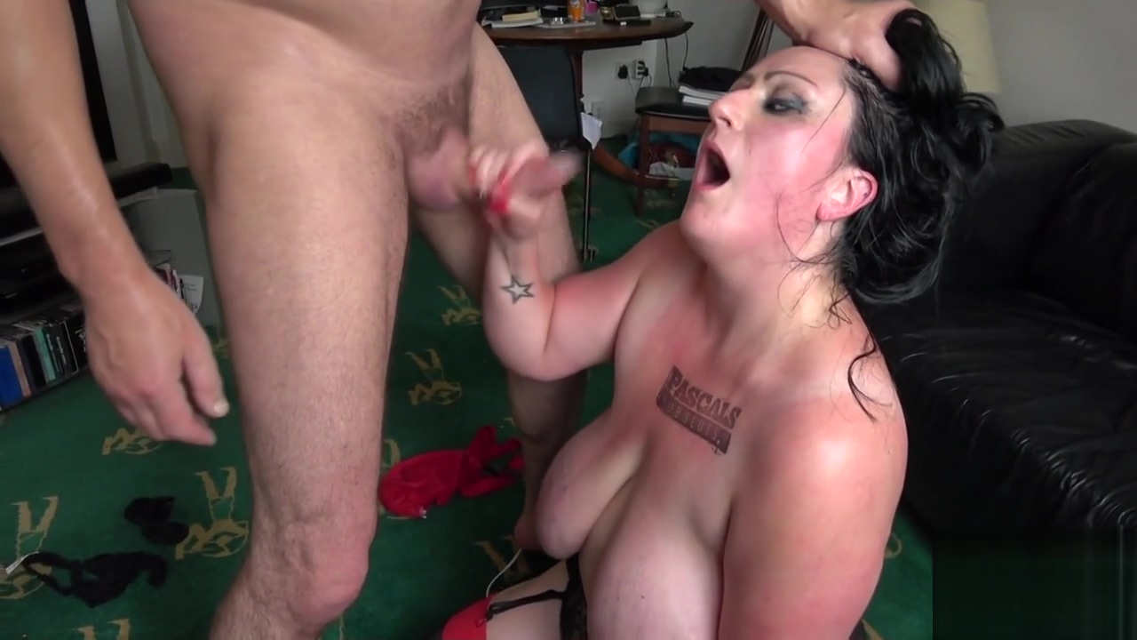 Chubby british slut fucked in bdsm action Messy cumshot pictures