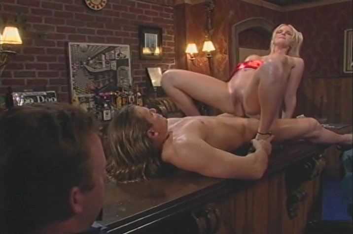 Blonde Stripper Sucks Dick And Gets Anally Fucked